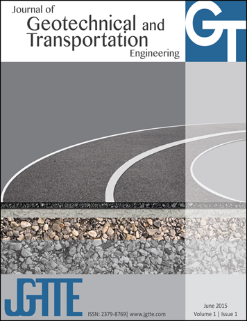 Journal of Geotechnical and Transportation Engineering